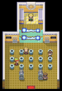 Vermilion City Gym from HG and SS
