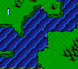 NES top-down gameplay