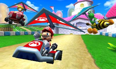 Mario! In a go-kart!