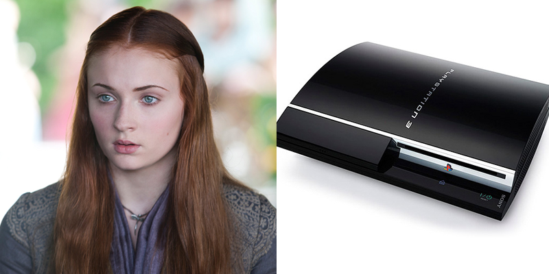 Sansa – PS3 – Bold and naive. Thinks everyone will love her because of her noble bloodline.