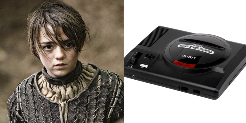 Arya – Genesis – A dark horse with a rebellious spirit. Proved that she can hang with the boys.