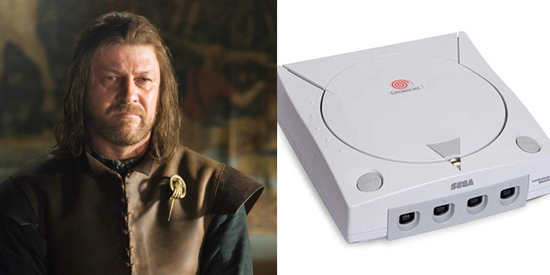Eddard – Dreamcast – Head of a strong household killed off too soon, many claim unjustly.