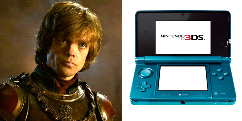 Tyrion – 3DS – Has a rough go at first, but gains power through cunning and persistence