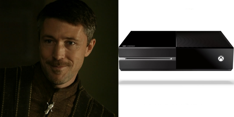 Petyr – Xbox One – True motivations unclear. Purportedly powerful. Will spy on you.
