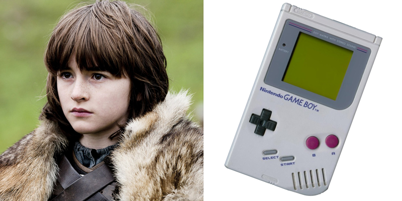 Bran – Game Boy – Can't do everything his big brothers can, but has other abilities that none of them have. Green dreams.