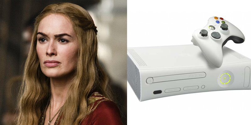 Cersei – Xbox 360 – Orchestrated the greatest seize of power for her family in recent history. Loved and feared in equal measure.