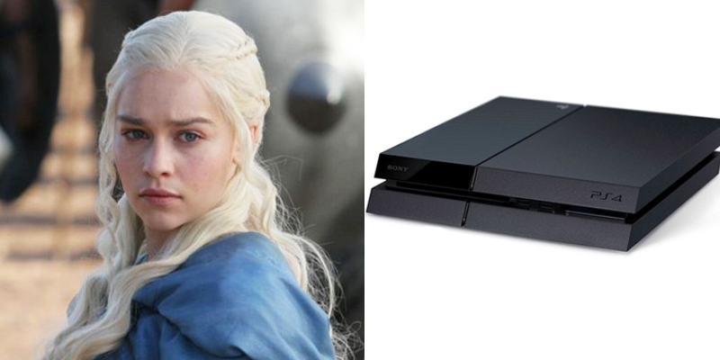 Daenerys – PS4 – Descendant of once dominant dynasty bent of returning to power. Fan favorite.