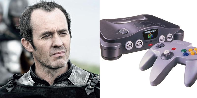 Stannis – N64 – Stubborn and traditionally-minded. Decided to go it alone, and has little outside support. Heard from infrequently.