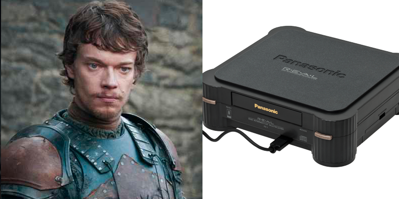 Theon – 3DO – Thinks he's cool, but no one really likes or supports him.