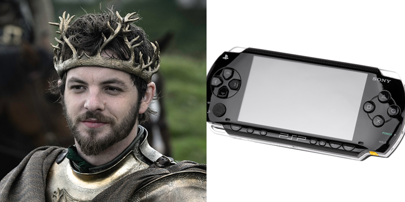 Renly – PSP – Little sibling to powerful stalwart. Defenses are easily compromised.