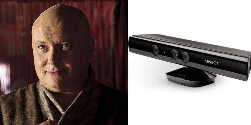 Varys – Kinect – Loyal to the realm, in service to his liege. Cordially bows to his master. Watches your every move.