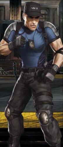Stryker in Mortal Kombat (2011).