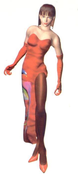 Anna's Tekken 2 appearance