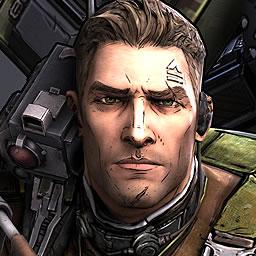Axton, the Commando.
