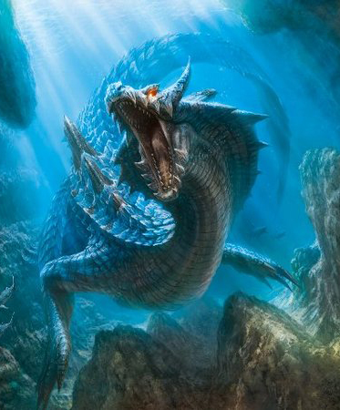 Lagiacrus - Not much of a problem later on.