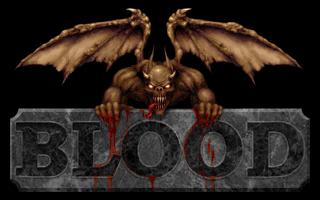 Blood Title Card