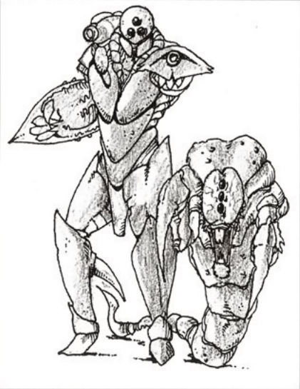 The Hound (right), one of three foes cut due to time and engine limitations