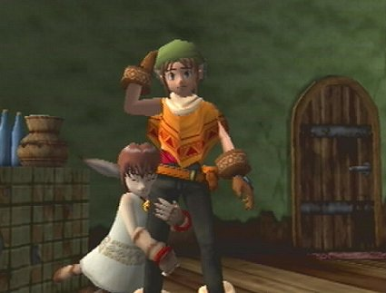 I'm absolutely not Link... trust me.