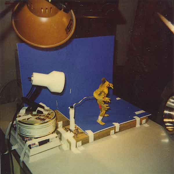 The original Goro model used in the production of Mortal Kombat.