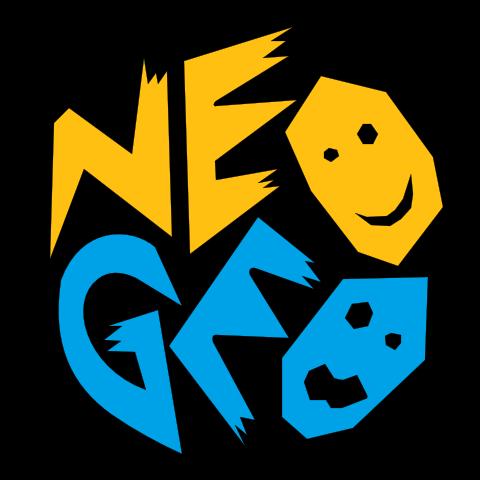 The iconic NEO GEO logo