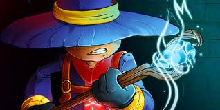 The Mage is one of four selectable characters