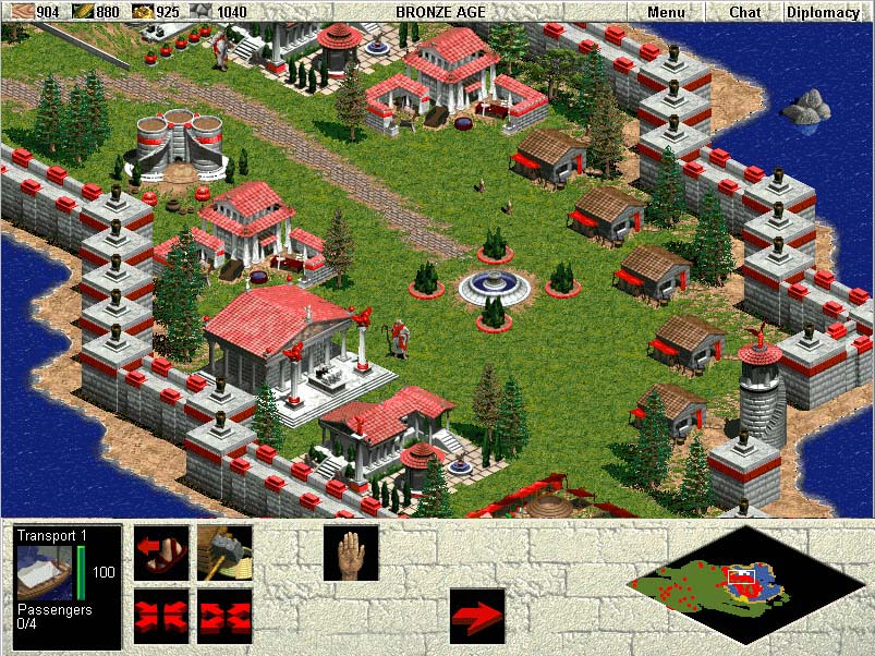 This game had really cool art style, and watching it evolve over the course of the different ages was fascinating. Building an entire Greek civilization does wonders for an eight year old's ego.