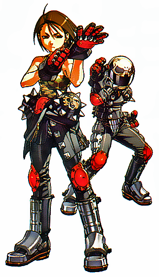 Both forms of Akira in Project Justice