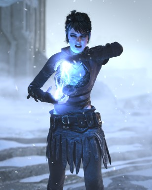 Dragon Age: Origins CGI trailer - Casting a spell
