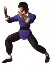 Lei as he debuts in Tekken 2