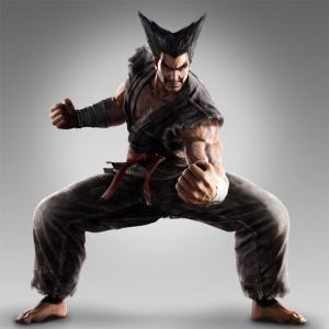 A younger Heihachi in Tekken Tag Tournament 2