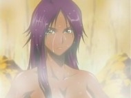 Yoruichi in the hot springs
