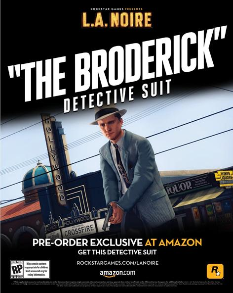 The Broderick Detective Suit