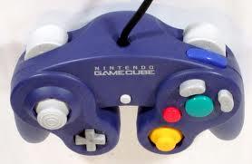 Nintendo Gamecube controller with built-in rumble