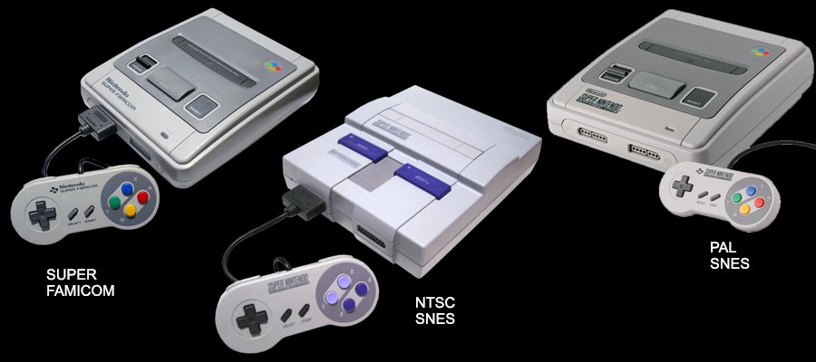 Wow, what's up with the American SNES anyway