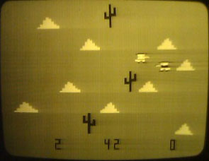 Taito's Western Gun (1975), the first open-world video game.