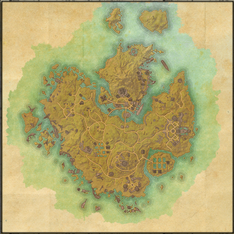 The 'starter' island of the Aldmeri Dominion, one of the three factions in Elder Scrolls Online.