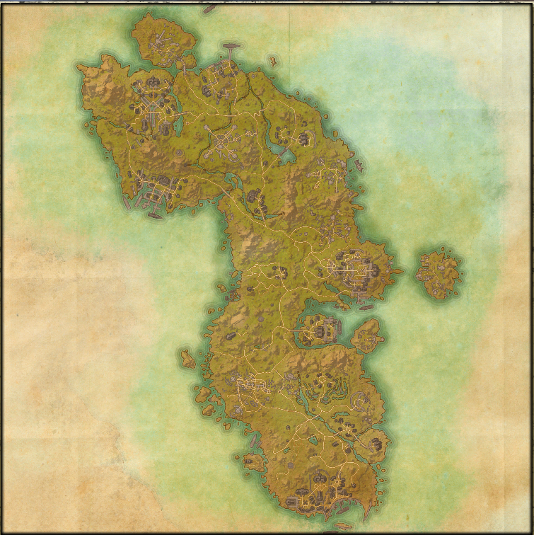 The far larger early level zone for the Aldmeri Dominion.