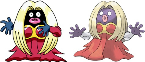 How have we gone this long without talking about Jynx, a disgusting pokemon design that was literally just