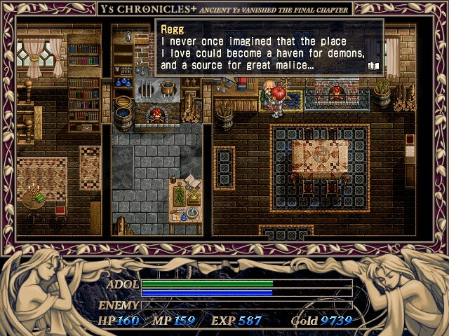 This is a 1997 remake of the old games, and the art style hasn't aged great, but it's a convenient way to play through some very old RPGs.