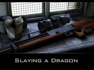 Slaying a dragon