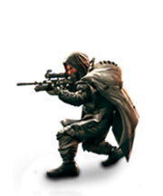 Marksman with VC32 Sniper Rifle