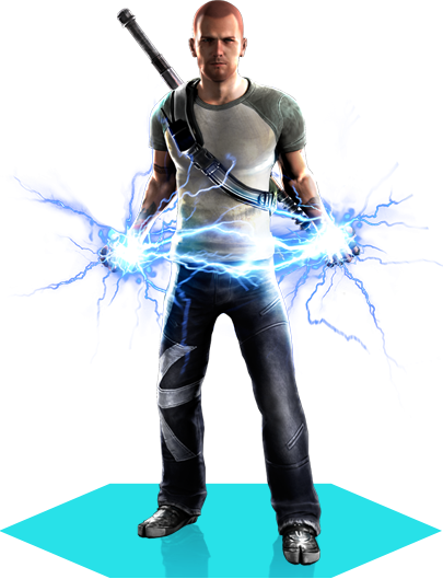 Cole's appearance from PlayStation All-Stars Battle Royale