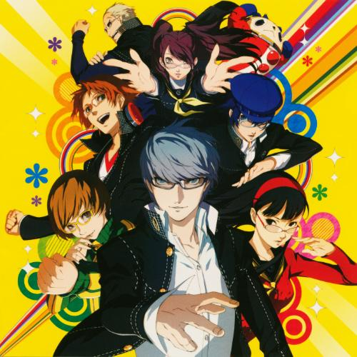 Persona 4 Golden's Album Art