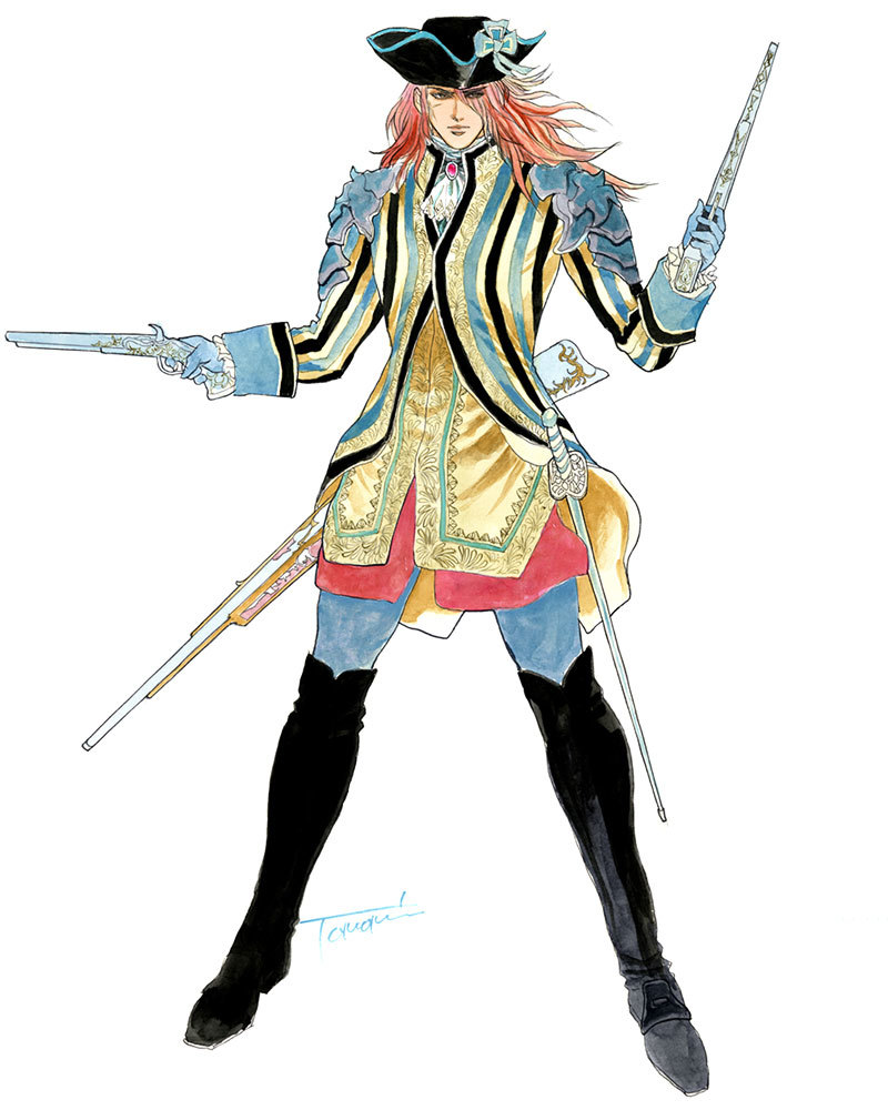 This is one of the musketeer costumes