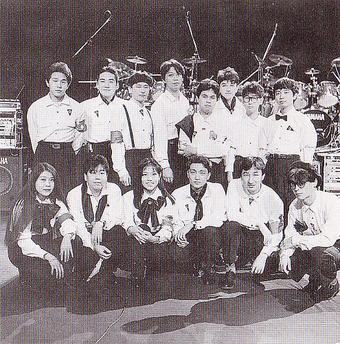 Original members of Zuntata at Game Music Festival Super Live '92