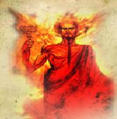 Atashzad Demon, the villain of dwarfs