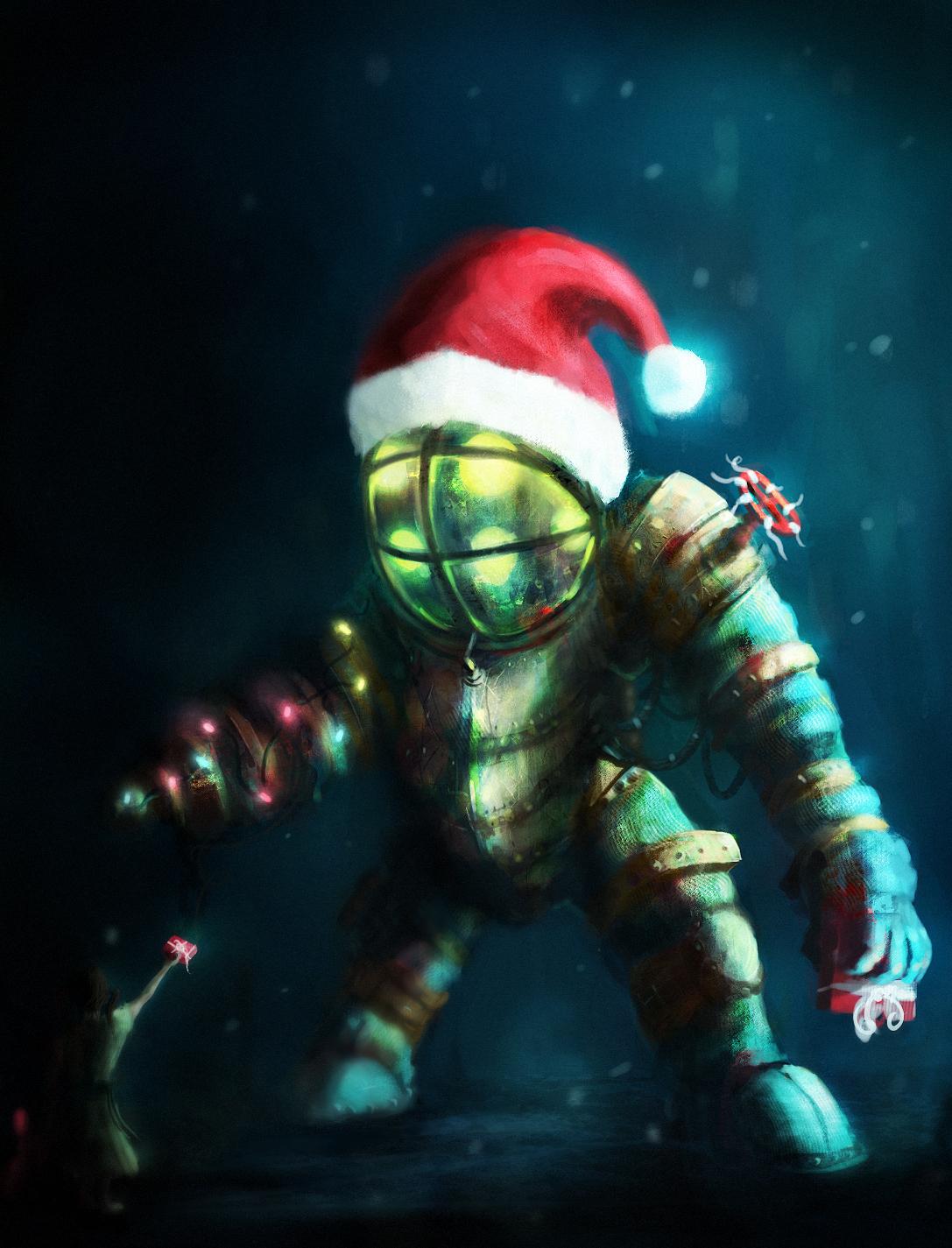 Merry Christmas Mr.Bubbles