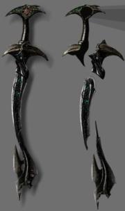 The legendary sword Excalibur