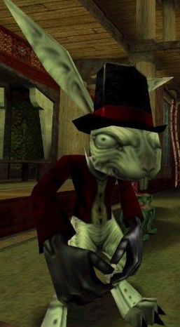 The White Rabbit as it appears in American Mcgee's Alice.