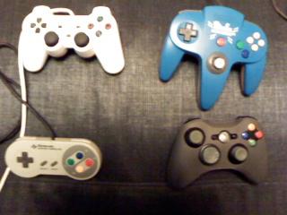 Recording consoles + NES